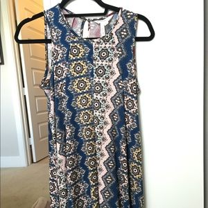 BCBG patterned sun dress